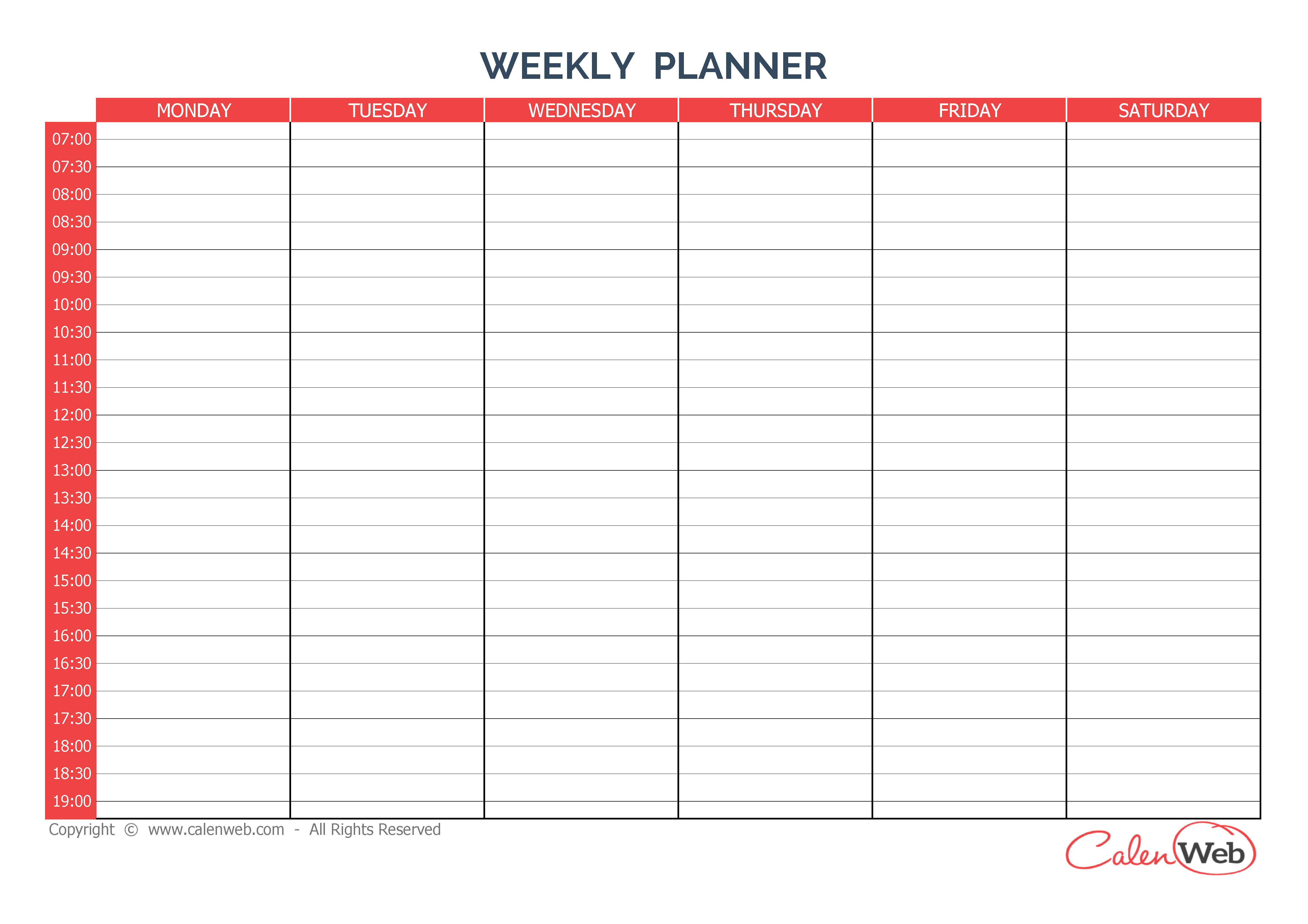 free printable work schedule calendar