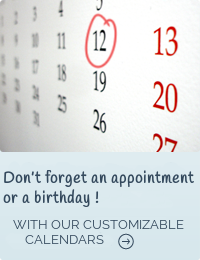 Don't forget an appointment or a birthday !